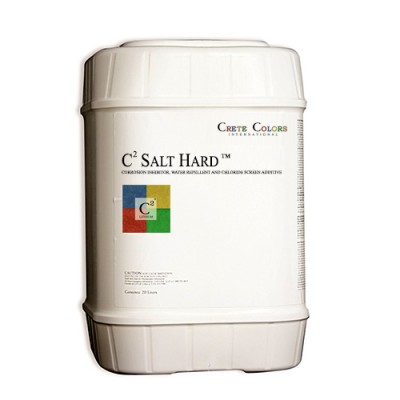C² Salt Hard+ ™ – Corrosion Inhibitor, Water Repellent and 'Chloride Screen' Additive