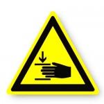 Durastripe Triangle Sign - Hand Crush Hazard