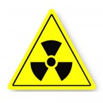 Durastripe Triangle Sign - Radiation