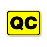 Durastripe Rectangle Sign - QC