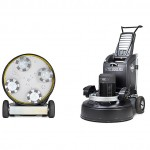 HTC 950 RX - a remote controlled floor grinder