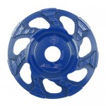 Cup Grinding Wheel 6 Blue - 200 grit - For handheld machines