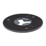 Tool holder (plastic disc), 180 mm - The new tool series for wood grinding